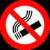 forbidden to smoke
