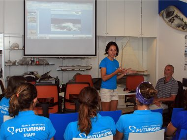 Futurismo colaborated with University of Évora in a project about marine mammals