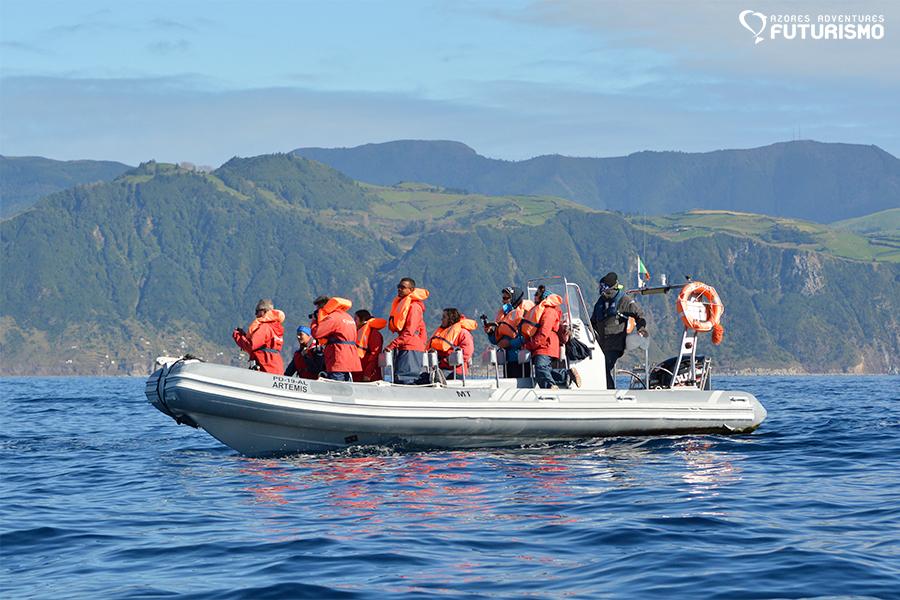 Futurismo Whale Watching Azores Artemis