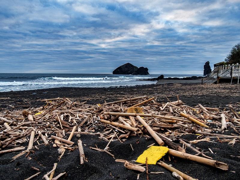 lixo marinho azores